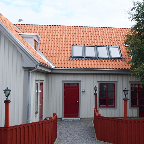 Snickaren Mariefred fasader