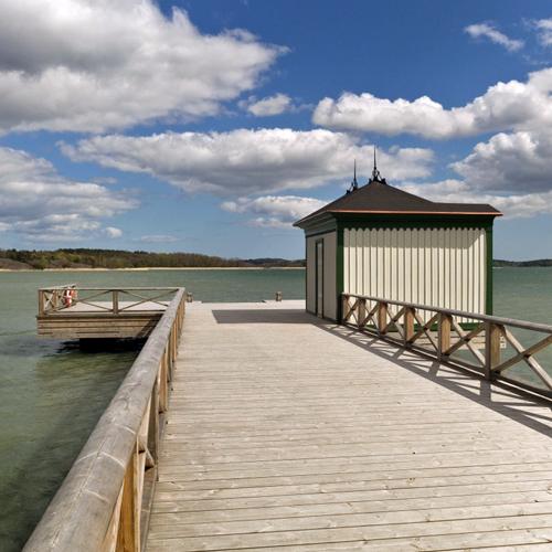 Bryggan och badhuset Tullgarn
