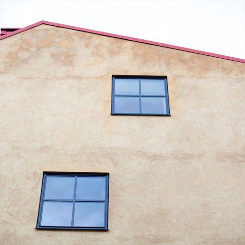 Arrendatorn Mariefred fasad med fonster