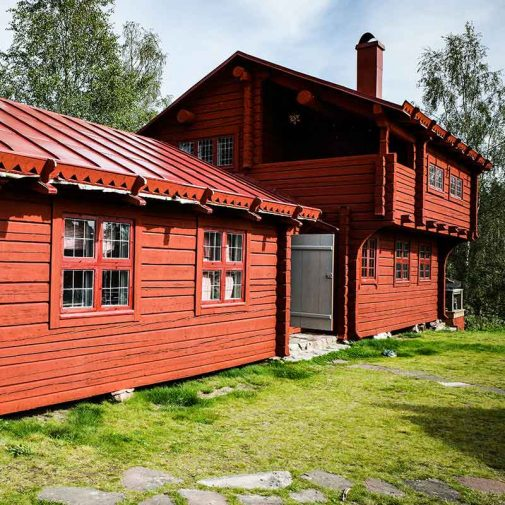Bastberg Leksand fasad nya huset