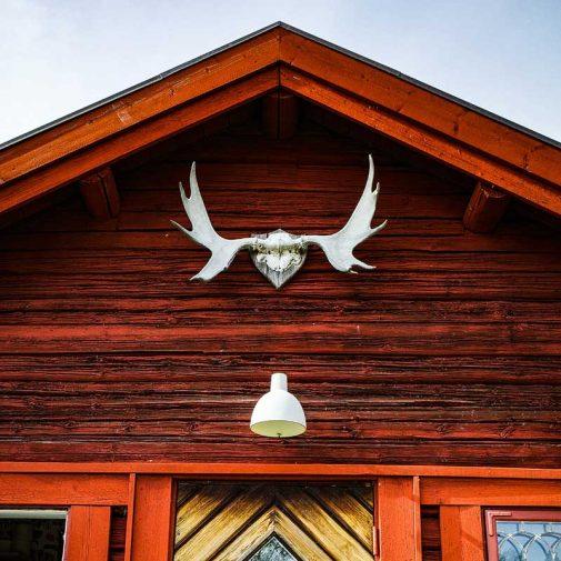 Bastberg Leksand fasad med horn