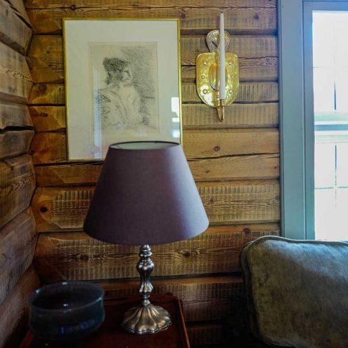 Bastberg Leksand lampa i vardagsrum