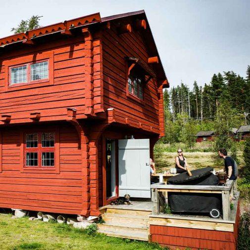 Bastberg Leksand veranda