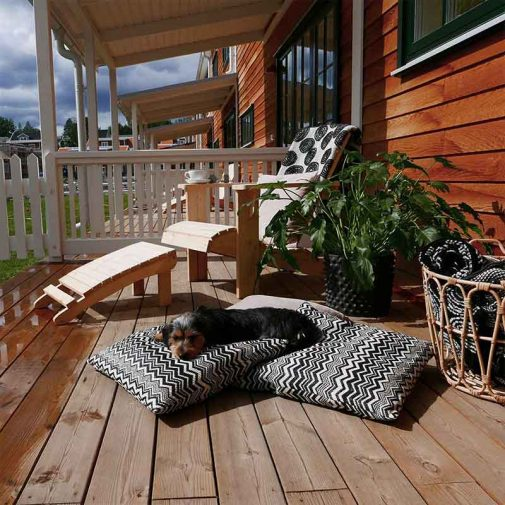 Ekviken radhus veranda