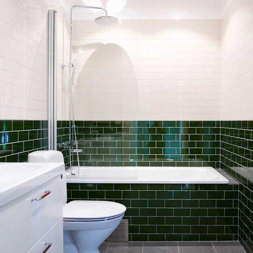 Ekviken radhus badrum