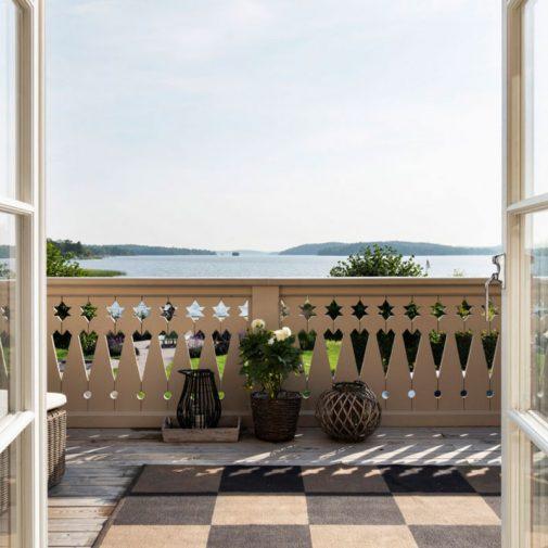 Kantorn Mariefred utsikt veranda