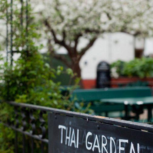 Thai Garden Strangnas vy mot tradgard