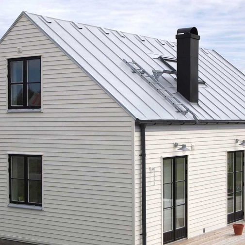 Vastra Akerby lilla vita huset