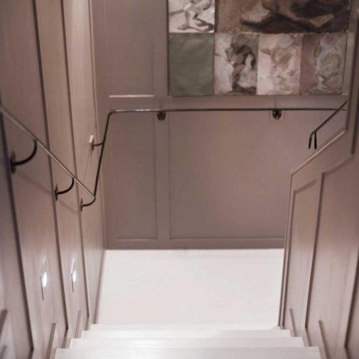 Slaktgarden Stallarholmen trappa