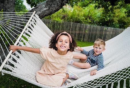 Barnen i trädgårdsstan